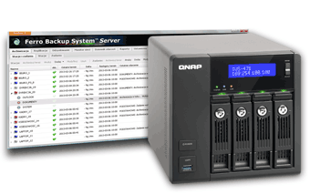 Setup backup server on QNAP NAS